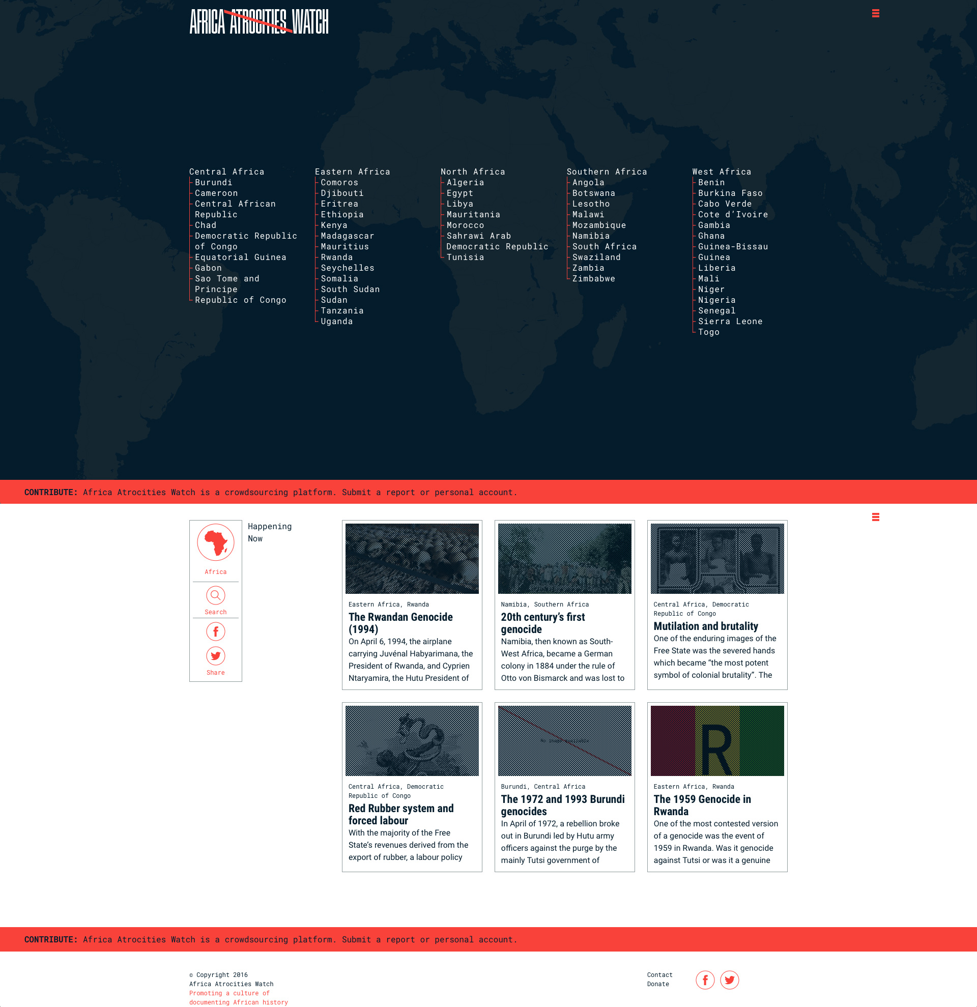 Home page africa atrocities watch africa atrocities watch dr godfrey musila holds a phd in international criminal law and justice with a focus on the international criminal court and a masters degree in 1betcityfo Gallery